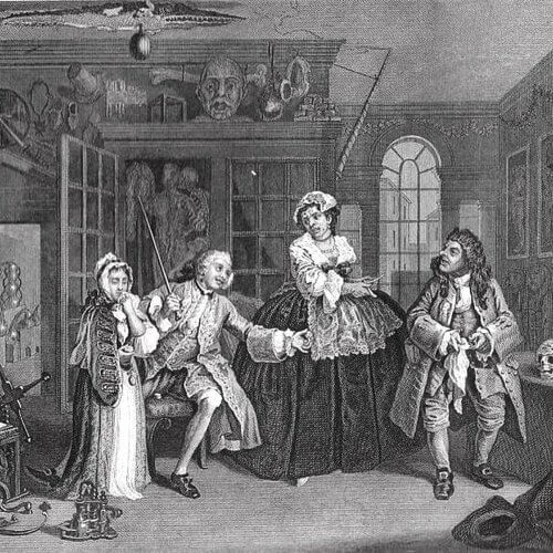 William Hogarth - Moralising art
